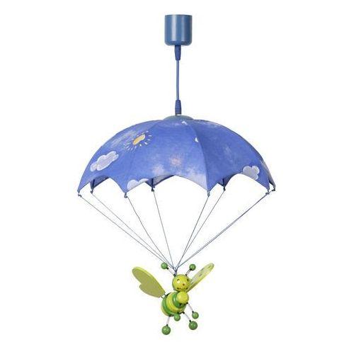 Lucide Lampa wisząca bee zielona/pomarańczowa plastik/bawełna