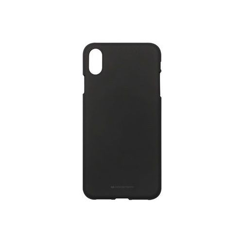 Apple iPhone XS Max - Mercury Goospery Soft Feeling - czarny, ETAP783GMSFBLK000