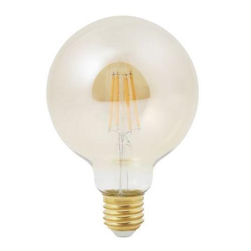 Żarówka dekoracyjna LED Diall G95 E27 6 W 470 lm przezroczysta barwa ciepła (3663602669371)