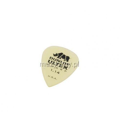433p ultex sharp kostka gitarowa 1.00mm marki Dunlop