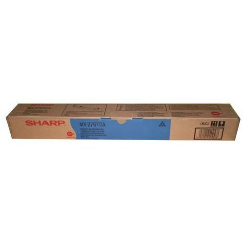 Sharp oryginalny toner mx-27gtca, cyan, 15000s, sharp mx 2300n, 2700n (4974019492568)