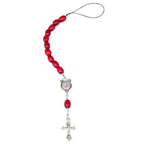 Różaniec samochodowy - św. Ojciec Pio (5906395374274)