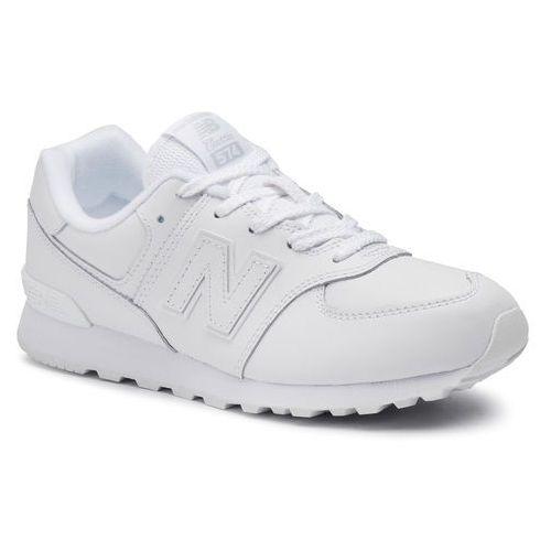 New balance Sneakersy - gc574erm biały