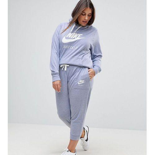 Nike plus gym vintage sweat pants in glacier grey - grey