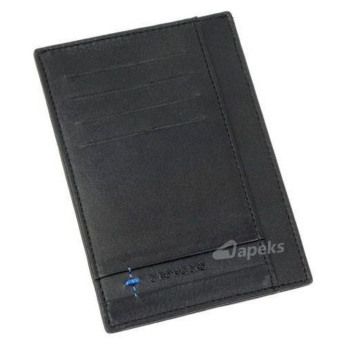 Roncato marte 41 1155 01 etui skórzane na karty - czarny (8008957416495)