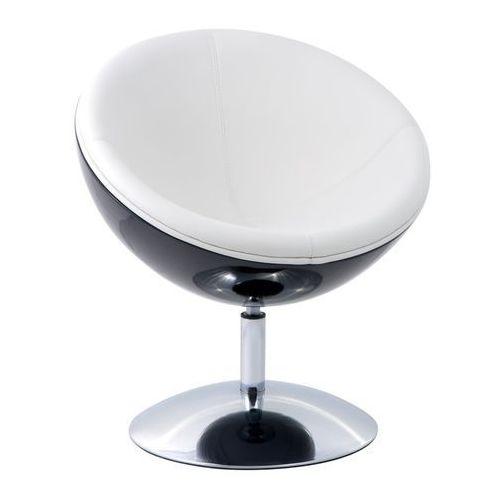 D2 0293 fotel mercury czarno biały