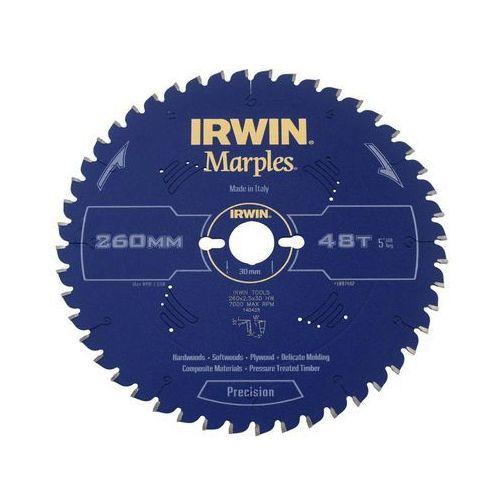 Tarcza do pilarki tarczowej 260 mm/48t m/30 marki Irwin marples