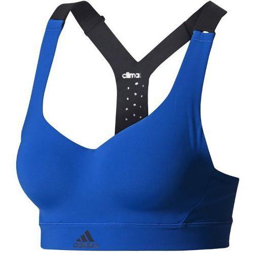 adidas Performance Biustonosz sportowy blue (4057288031680)