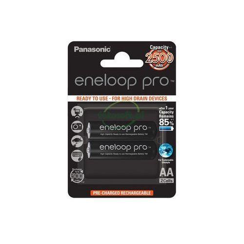 2 x Panasonic Eneloop PRO R6/AA 2550mAh BK-3HCDE/2BE (blister), BK-3MCCE/2BE