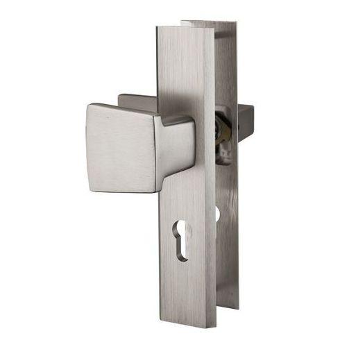 Klamka drzwiowa pochwyt floko yale długi szyld prawa marki Kuchinox