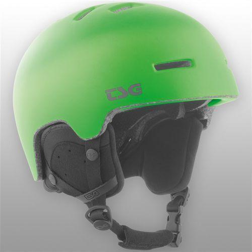 kask TSG - Arctic Nipper Maxi Solid Color Satin Lime Green (170) rozmiar: XXS/XS