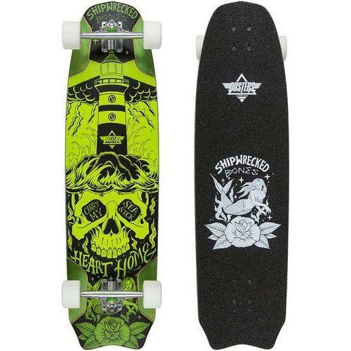"""longboard DUSTERS - Bones Longboard 37.9"""" Green (GRN) rozmiar: 37"""