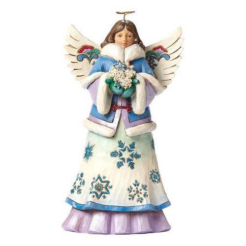 Anioł Zimowy, skrzydła (May Blessings Fall Upon You), 4047658 artysta Jim Shore figurka ozdoba świąteczna