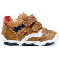 Geox sandały chłopięce New Balu 25 brązowy (8058279808652)