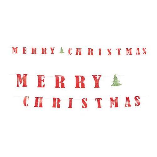 Guirca Girlanda merry christmas - 360 cm - 1 szt. (8412672541743)