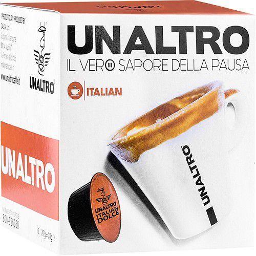 Nescaffé Dolce Gusto® kompatybilne kapsułki kawy UNALTRO mieszanka Italian 10 szt., 1938-66747