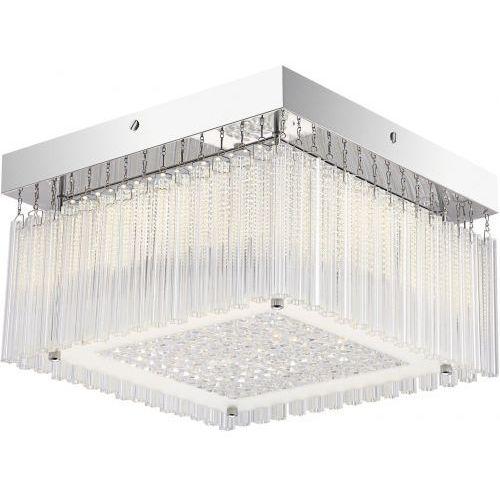 Plafon lampa sufitowa Rabalux Marcella 1x18W LED chrom 2451 (5998250324517)