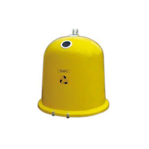 Pojemnik do segregacji typu dzwon AT - plastik, ABRS002ZOŁTY