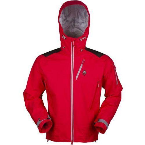 High point kurtka męska protector 4.0 jacket red/grey zip xxl
