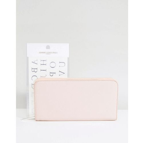 Johnny Loves Rosie Monogramme Purse - Pink