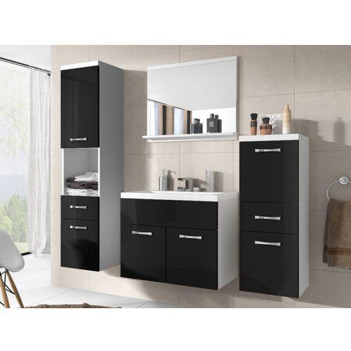 Shower design Zestaw claudia - meble łazienkowe - lakier czarny