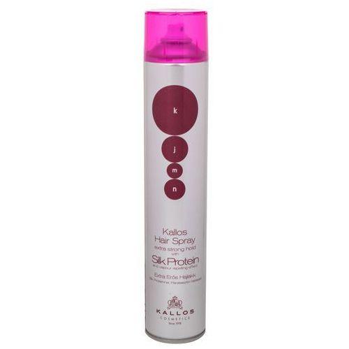 Kallos kjmn lakier do włosów extra srong (hairspray extra strong hold) 750 ml
