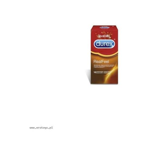 Prezerwatywy durex real feel a10 wyprodukowany przez Durex (uk)