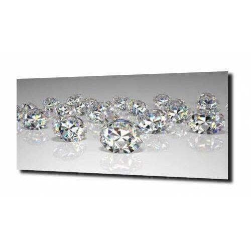 obraz na szkle, panel szklany Diamenty 35