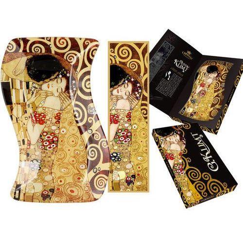 Talerz dekoracyjny G. Klimt - Pocałunek