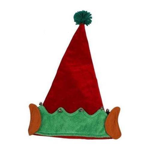 Czapka Elfa Lux 28 x 45 cm - ozdoby i dekoracje świąteczne