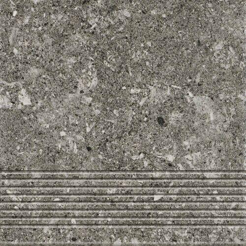 Ceramika paradyż Stopnica rockstar grafit 30 x 30 (5904584149399)