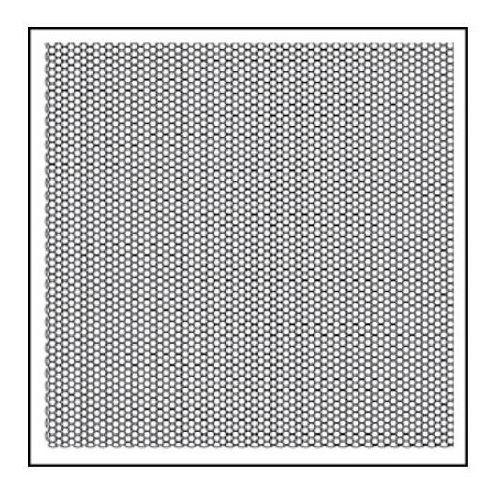 Stempel akrylowy  wtk135 plaster miodu marki Stamperia