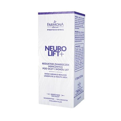 neurolift+ reduktor zmarszczek mimicznych pod oczy i wokół ust, marki Farmona