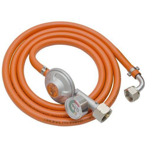 Zestaw gazowy LECHAR FPB-KK-200 (Ocynk z krótką złączką kątową) (5904730729208)