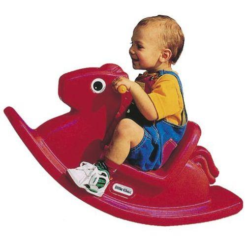Little tikes Koń na biegunach czerwony (167000072) (0050743116704)