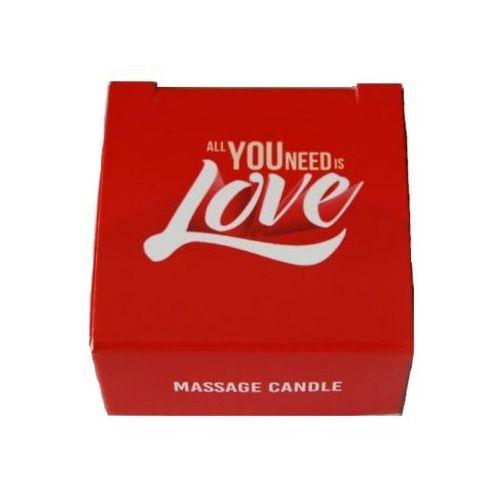 All you need is love – świeczka do masażu marki Lsdi