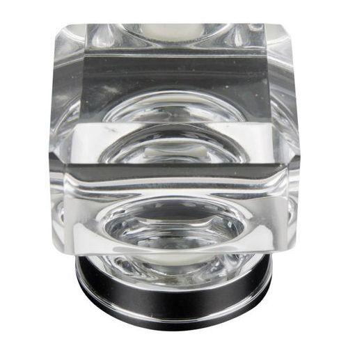 Schaffner Gałka lea kryształowa kwadratowa 35/35 mm