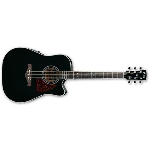 Ibanez Aw70ece-bk black - gitara elektroakustyczna