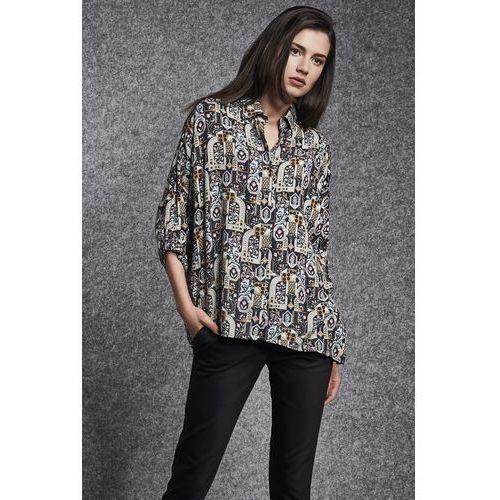 Wzorzysta bluzka - Ennywear, kolor wielokolorowy