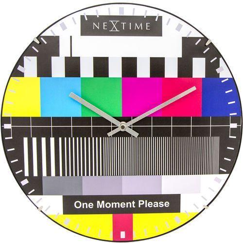 Zegar ścienny Testpage Dome Nextime 35 cm (3162)