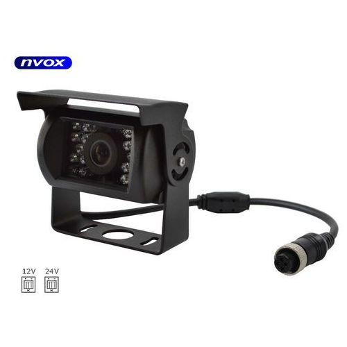 Samochodowa kamera cofania 4pin cmos w metalowej obudowie 12v 24v marki Nvox