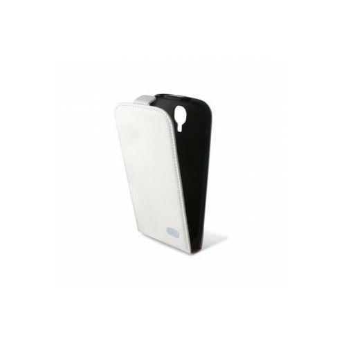KSIX Etui FLIP UP dedykowane do Samung Galaxy S4 i9505 - białe Odbiór osobisty w ponad 40 miastach lub kurier 24h - produkt z kategorii- Futerały i pokrowce do telefonów