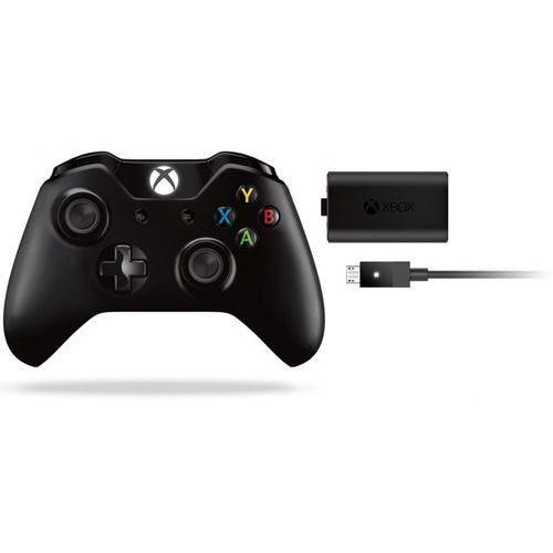 Zestaw MICROSOFT XboxOne Kontroler bezprzewodowy + Play & Charge Kit, towar z kategorii: Gamepady