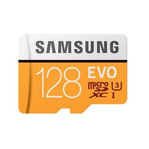 Samsung 128GB, MicroSDXC EVO 128GB MicroSDXC UHS-I Klasa 10 pamięć flash (8806088676494)