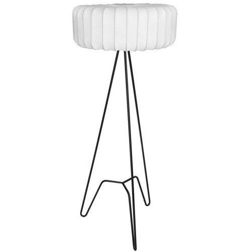Maxlight tripod f0053 lampa stojąca podłogowa 1x40w e27 czarna/biała