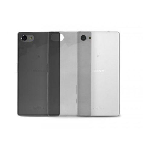 Etui PURO Nude do Sony Xperia Z5 Compact Czarny przezroczysty (Futerał telefoniczny)