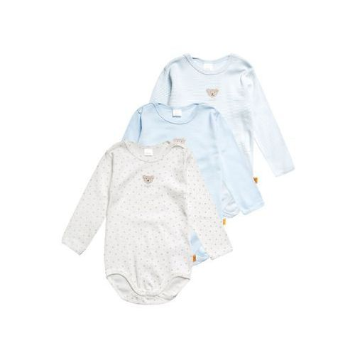 Steiff Collection 1/1 ARM ESSENTIALS 3 PACK Body baby blue/blue, 6725016