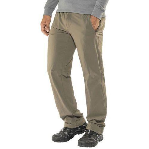 xert stretch ii spodnie długie mężczyźni brązowy 52 2018 spodnie softshell marki Regatta