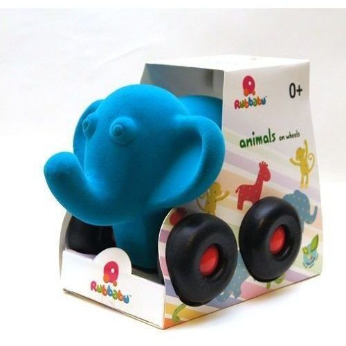 Słonik pojazd kolor niebieski marki Rubbabu