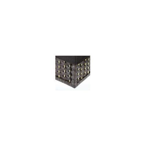 Miętus import Wiklinowy koszyk dekoracyjny prostokąt brązowy 3122 jd9509 rozmiar m